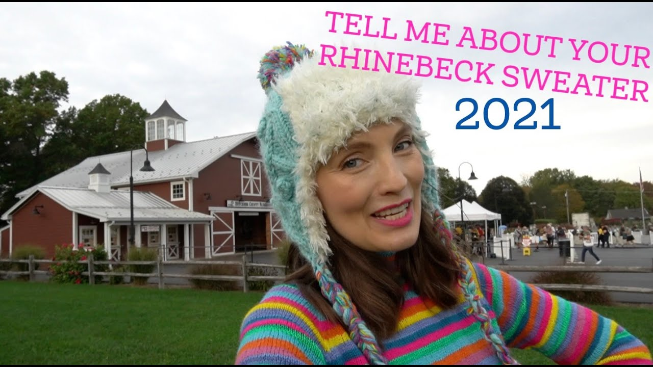 Download Kristy Glass Knits: TELL ME ABOUT YOUR RHINEBECK SWEATER 2021