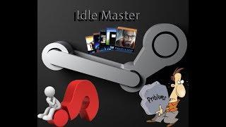 idle master не подключается к steam  не работает фарм карточек