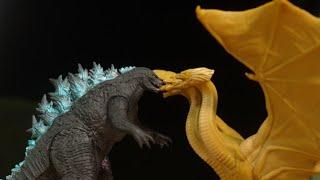 ゴジラ キングオブモンスターズ キングギドラ モスラ ラドン ハリウッド版 ソフビ レビュー Godzilla  King of the Monsters Toy