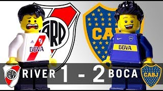 LEGO River Plate 1 - 2 Boca Juniors 2017 / 2018