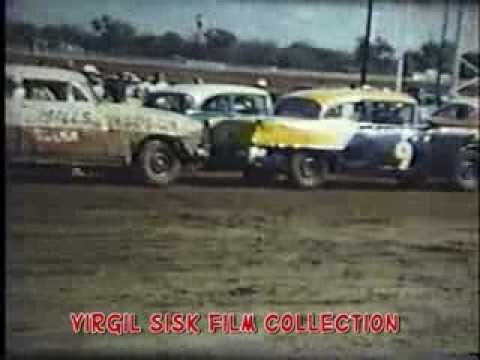 State Fairgrounds Speedway - Building for a 55 year run. A Virgil Sisk film