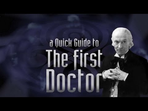 A Quick Guide to Classic Who Season 1