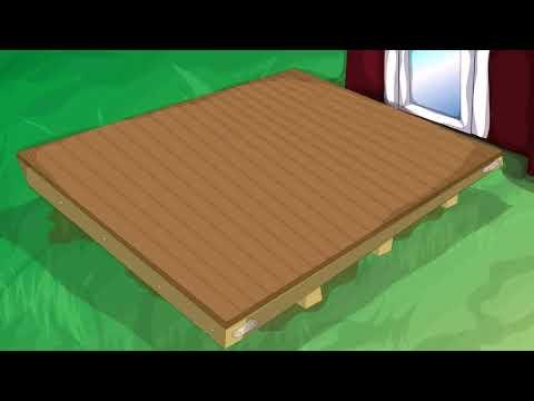 Building A Wooden Deck Over Concrete Steps