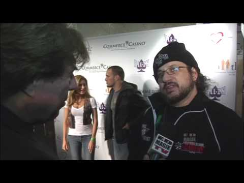 Joe Reitman Interview at Celebrity Poker Tournament for Love