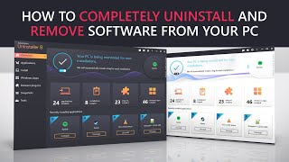 How to completely uninstall and remove software from your PC.