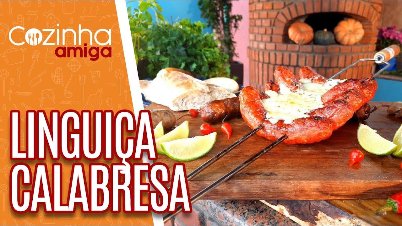 Linguiça Calabresa e Sanduíche de Linguiça calabresa - Marcos Baldassari  | Cozinha Amiga (DD/MM/AA)