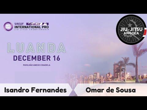Isandro Fernandes Aliança do Tatame vs Omar de Sousa Z1 Academy