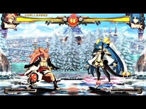 level-maniac-baiken-vs-dizzy-guilty-gear-xrd-rev-2-battle-match