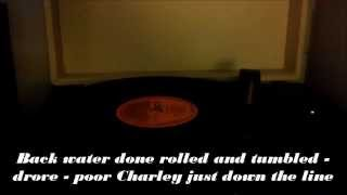 Charley Patton -  High Water Everywhere Parts 1 and 2 (with subtites)