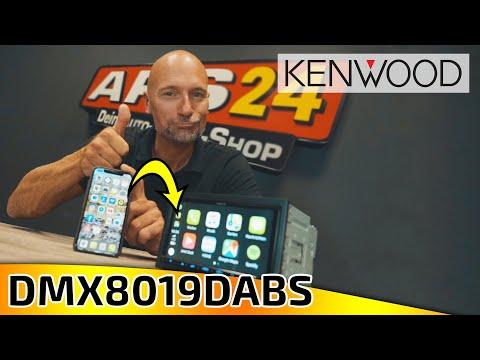 Kenwood DMX8019DABS | wireless Apple CarPlay | ARS24