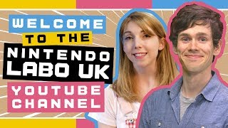 Introducing the Nintendo Labo UK YouTube channel!