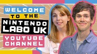 Introducing the Nintendo Labo UK YouTube channel!