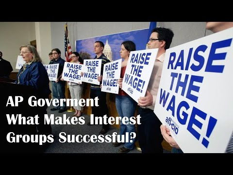 What Makes Interest Groups Successful?: AP Government