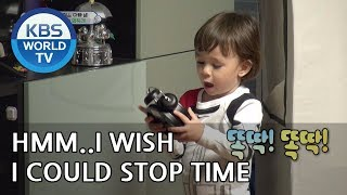 William is stopping every clock in the house LOL [The Return of Superman/2019.01.06]