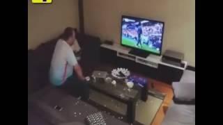 Boyfriend smashes TV during Euro 2016 after girlfriend prank