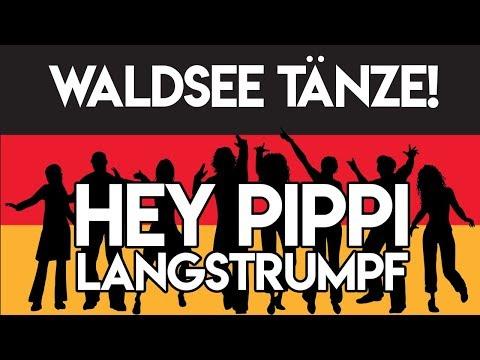 Hey Pippi Langstrumpf Tanz   Waldsee 2017