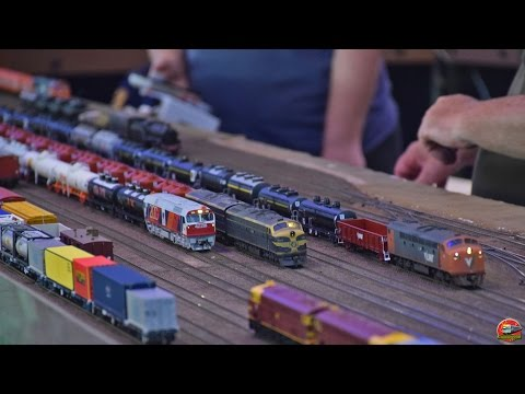 Sandown Model Railway Exhibition 2017 | Part 1