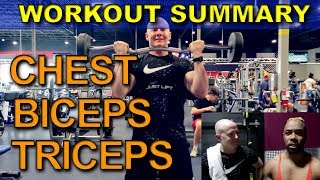 Doing My Goods Vlog: Our Gym Summary for BIGGER Shoulders & Arms!