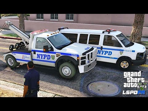 LSPDFR #562 - NYPD VAN CITY PATROL(GTA 5 REAL LIFE POLICE PC MOD)