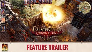 Divinity: Original Sin 2 - Feature Trailer