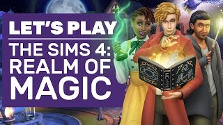 Let's Play The Sims 4: Realm Of Magic | Realm of Magic Impressions