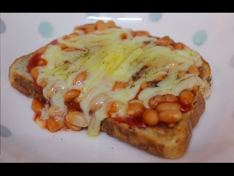 recipe: beans on toast with cheese [4]