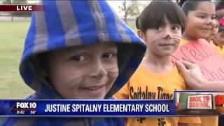 Back to school: Justine Spitalny Elementary School