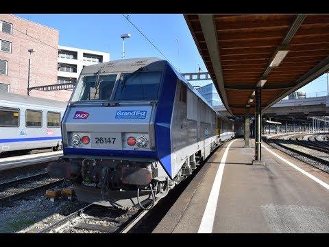 [2/3] De Bâle à Strasbourg en cabine d'une BB 26000 - TER 200