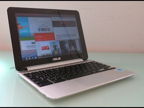 Android apps on a Chromebook Asus Chromebook Flip