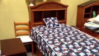 Book Case Captain Platform Bed With Storage Trundle