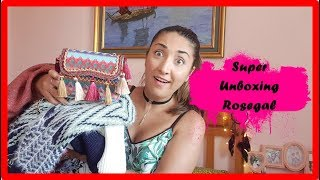 Super unboxing Rosegal