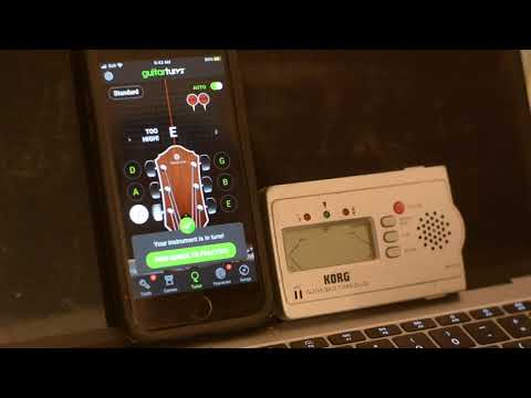 Are Guitar Tuner Applications Accurate?