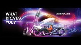 انطلاق فعاليات الدورة 13 لمعرض دبي الدولي للسيارات