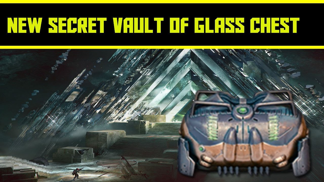 Destiny new vault of glass secret chest discovered and for Vault of secrets