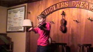 Ryan Plays his Fiddle at Fiddlers Dream - TheDoughertyFamily