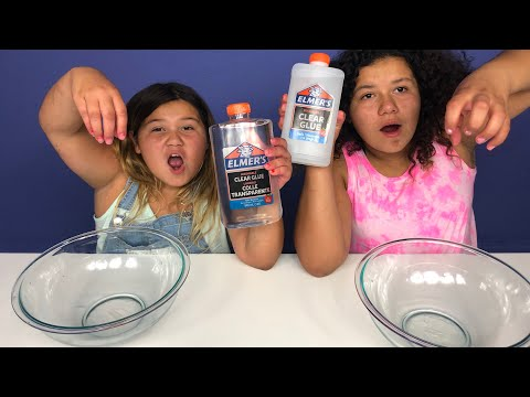 ELMER'S CLEAR GLUE VS NEW ELMER'S CLEAR GLUE COLLE TRANSPERANTE - INSTANT CLEAR SLIME