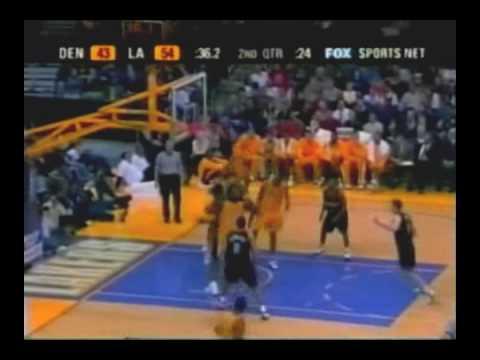 NBA 2002-03 Season K.Bryant Made 42 Pts vs nugget