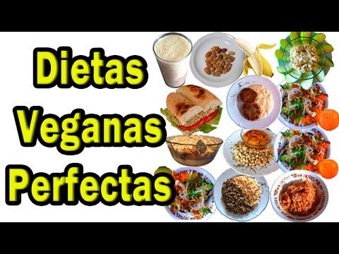 Dieta de un vegano