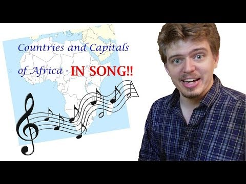 ALL Countries and Capitals of Africa - IN SONG!