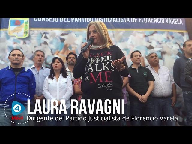 """Laura Ravagni: """"En el Camino de la Memoria no hay solo nombres, sino compañeros a los que le arrebataron la vida por la lucha"""""""