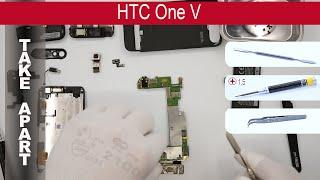 видео Ремонт HTC One V (T320e) в Киеве: заказать срочный ремонт