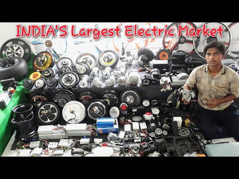 India's largest electric vehicles mall in india || Creative science