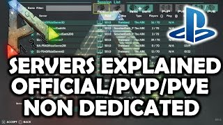 ARK Survival Evolved PS4 Servers Explained - Join Official/Non Dedicated/Single Player(, 2016-12-06T13:06:10.000Z)