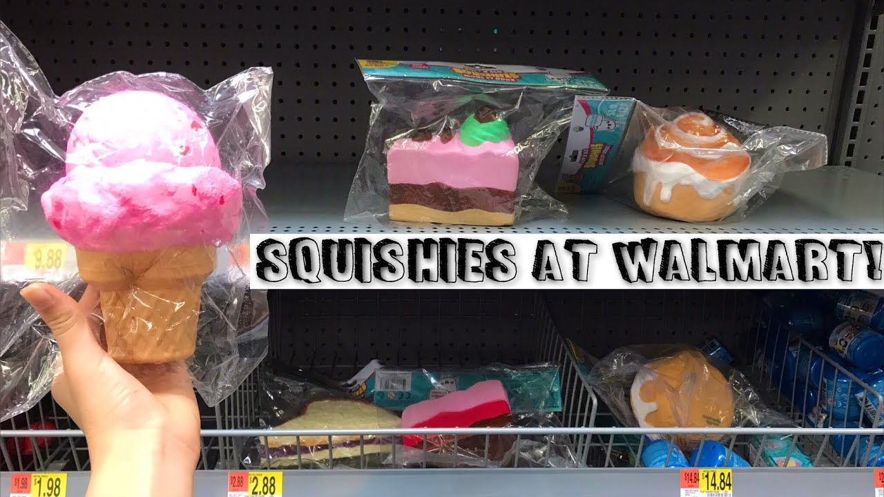 squishies at walmart youtube