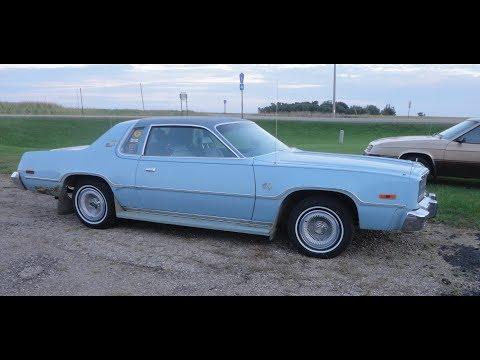 1978 Plymouth Sport Fury gets it's original wheels back on