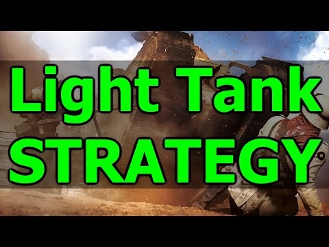 Light Tank Strategy! Empire's Edge Tank Massacre (Battlefield 1 - BF1 Gameplay Commentary)