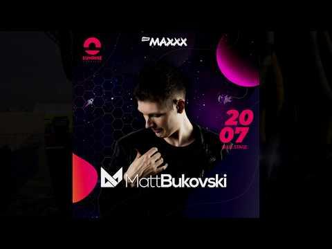 Matt Bukovski - Sunrise Festival 2019, Blue Stage (20.07.2019) Lotnisko Podczele