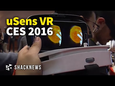 CES 2016: uSens VR and AR Demo