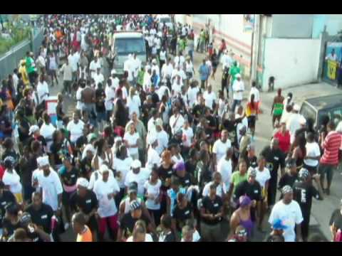 Vincy Mas 2009 Carinival Monday Street Party 2 (Audio Replaced)