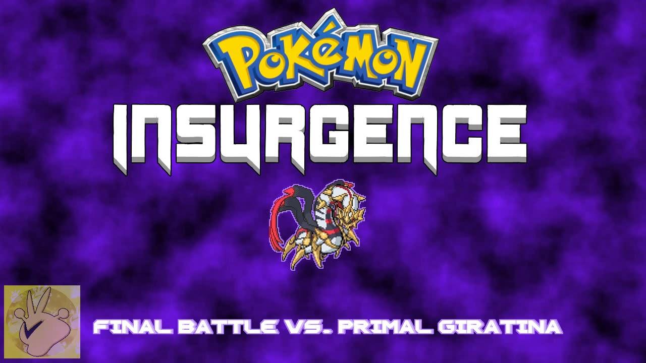 Pokemon Insurgence Final Battle Vs Primal Giratina Unofficial Ft Ld3005